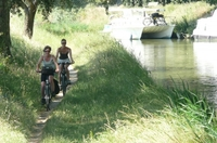 Radeln am Canal du Midi