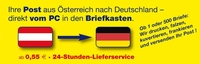 Ihre Post aus Österreich nach Deutschalnd