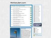 Als Werkstudent online über Unternehmen informieren