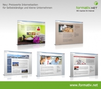Webdesign aktuell: Schlanke Internetseiten für kleines Budget
