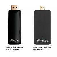 "TVPeCee Internet-TV & HDMI-Sticks ""MMS-844.wifi"" und ""MMS-864.wifi+"" mit  Android 4.0, WLAN"