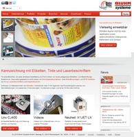 Bluhm Systeme mit neuer Website