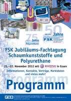 FSK Jubiläums-Fachtagung Schaumkunststoffe und Polyurethane