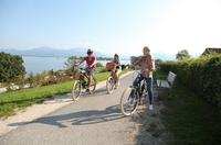 Radfahren im Chiemsee-Alpenland: Genuss und Bergblick