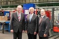 Automotive: Gouverneur von Kentucky besucht Kemmerich in Attendorn