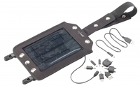 revolt Mobiles Solarpanel (17 x 25 cm) mit Powerbank, 2.000mAh, 2,46W