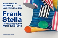 New exhibition in the Kunstmuseum Wolfsburg: Frank Stella - The Retrospective. Works 1958-2012 from September 8, 2012