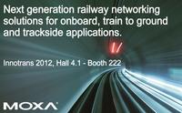 Lösungen für die Schienenverkehrsnetzwerke der Zukunft an Bord, Zug an Strecke und entlang der Gleise auf der Innotrans 2012