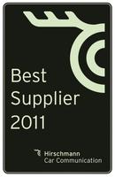 """Hirschmann Car Communication verleiht """"Supplier Award"""" an herausragende Lieferanten"""