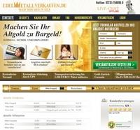Vom Gold zum Geld - mit edelmetall-verkaufen.de
