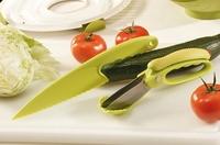 Schnittiges Salat-Duo: Salatschere und Salatmesser von Westmark