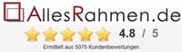 AllesRahmen.de hat 4,8 Sterne von 5 - mehr als 5.000 positive Bewertungen auf ekomi