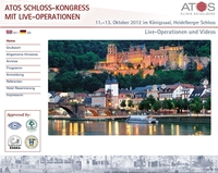 3rd ATOS Heidelberg Castle Meeting 2012: International Symposium on Hip and Knee with Live Surgery