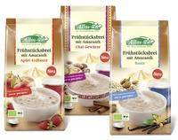 """Neu von Allos: Amaranth Frühstücksbrei oder """"Honig & Chai"""""""