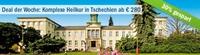 FIT Reisen: Deal der Woche Komplexe Heilkur in Tschechien