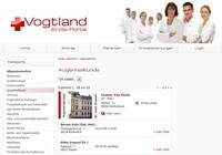 Aerzte-Vogtland - aktuelle Informationen zu Ärzten der Region