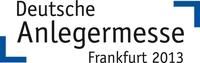 Deutsche Anlegermesse Frankfurt 2013 - Prädikat wertvoll