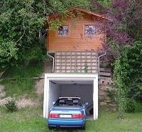 Ein Gartenhaus will hoch hinaus!