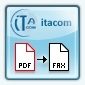 PDF-to-Fax für ERP Software aus dem Hause itacom