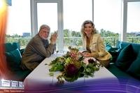 Hardy Krüger zu Gast bei Tischgespräch auf FAN Television