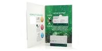 """USB-Sticks / """"u-Book Mailer"""" - personalisierbare Verpackung für USB-Cards"""
