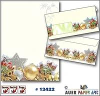 Weihnachtsbriefpapier und Weihnachtskarten vom Marktführer Auer