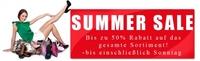 Alles muss raus - Sommerschlussverkauf bei Stiefelparadies