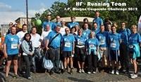 Hürner-Funken GmbH wieder stark vertreten bei J.P. Morgan Corporate Challenge in Frankfurt/Main