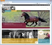 Webdesign aktuell: Neues Onlinemagazin für Pferdeliebhaber