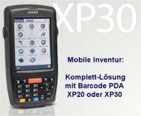 Mobile Inventurdatenerfassung: Sofort einsetzbare, einfache Barcode-PDA Komplett-Lösung