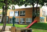 Raumpädagogische Architektur in Modulbauweise für Kölner Kita