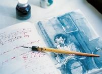 Trend Reisetagebuch: Urlaubserinnerungen in Malereien und Collagen festhalten