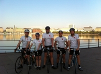 Erfolgreiche Premiere des Sindt-Consulting Cycling-Teams bei den Cyclassics