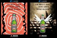"""myposter.de ermöglicht den Druck individueller Beck""""s Poster"""