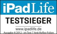 Qualität überzeugt: Die Dipos Antireflex - Reflex-Folie für iPads überzeugender Testsieger