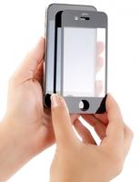 Somikon Display-Schutz fuer iPhone 4/4S oder Samsung Galaxy S2 aus gehaertetem Echtglas
