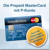 Keine SCHUFA-Meldung bei Eingang einer Pfändung: Das P-Konto mit Prepaid MasterCard garantiert SCHUFA-Freiheit und Diskretion