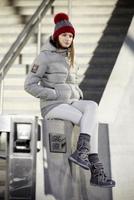 Wollig warm im Winter - weicher, exquisiter Wollstoff verleiht Dolomite-Jacken feine Eleganz