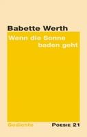 """Neuerscheinung: Gedichtband """"Wenn die Sonne baden geht"""" von Babette Werth"""