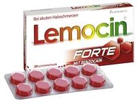 Lemocin Forte mit Benzocain in frischem Design