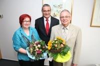 Nach 43 jähriger Dienstzeit - Verabschiedung Angelika Janz und Klaus Keller
