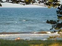 Strandloft Meeresblick Sauna Fitness Seebad Juliusruh eigener Strandzugang