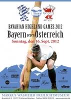 Bayern gegen Österreich  BAVARIAN HIGHLAND GAMES am 16.09.2012