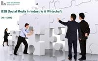 Tagung - B2B Social Media in Industrie & Wirtschaft