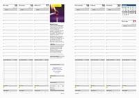 Zeitplaner und Kalendereinlagen für eine effektive Terminplanung, Zeitplanung und Motivation - jetzt zum Selbstausdrucken