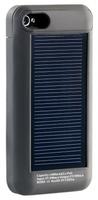 Callstel Solar-Reserve-Akku fuer iPhone 4 /4S, schwarz, 1.600 mAh