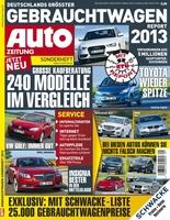 GTÜ-Gebrauchtwagenreport 2013