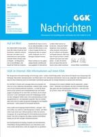 Druckfrisch erschienen: Die neue Ausgabe der GGK Nachrichten