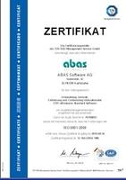 ABAS erhält ISO 9001 Zertifikat