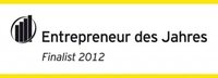 """Euroweb Internet GmbH ist Finalist im Wettbewerb """"Entrepreneur des Jahres 2012"""""""